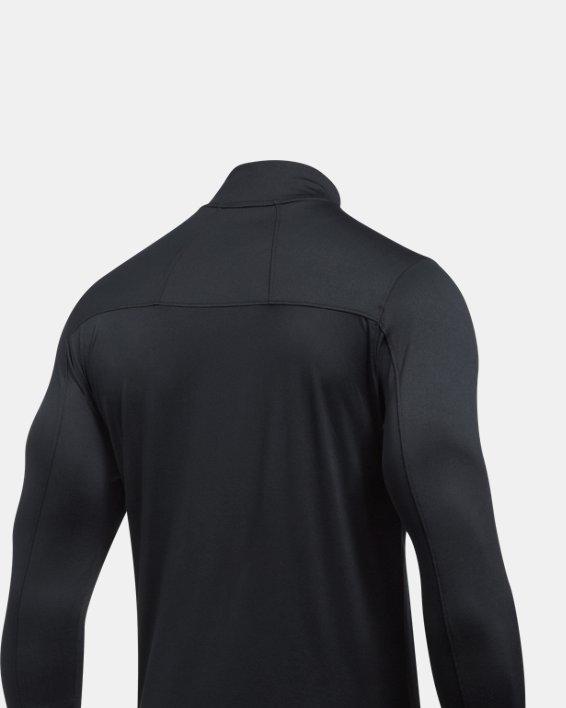 Men's UA Tech™ Corp ¼ Zip, Black, pdpMainDesktop image number 1
