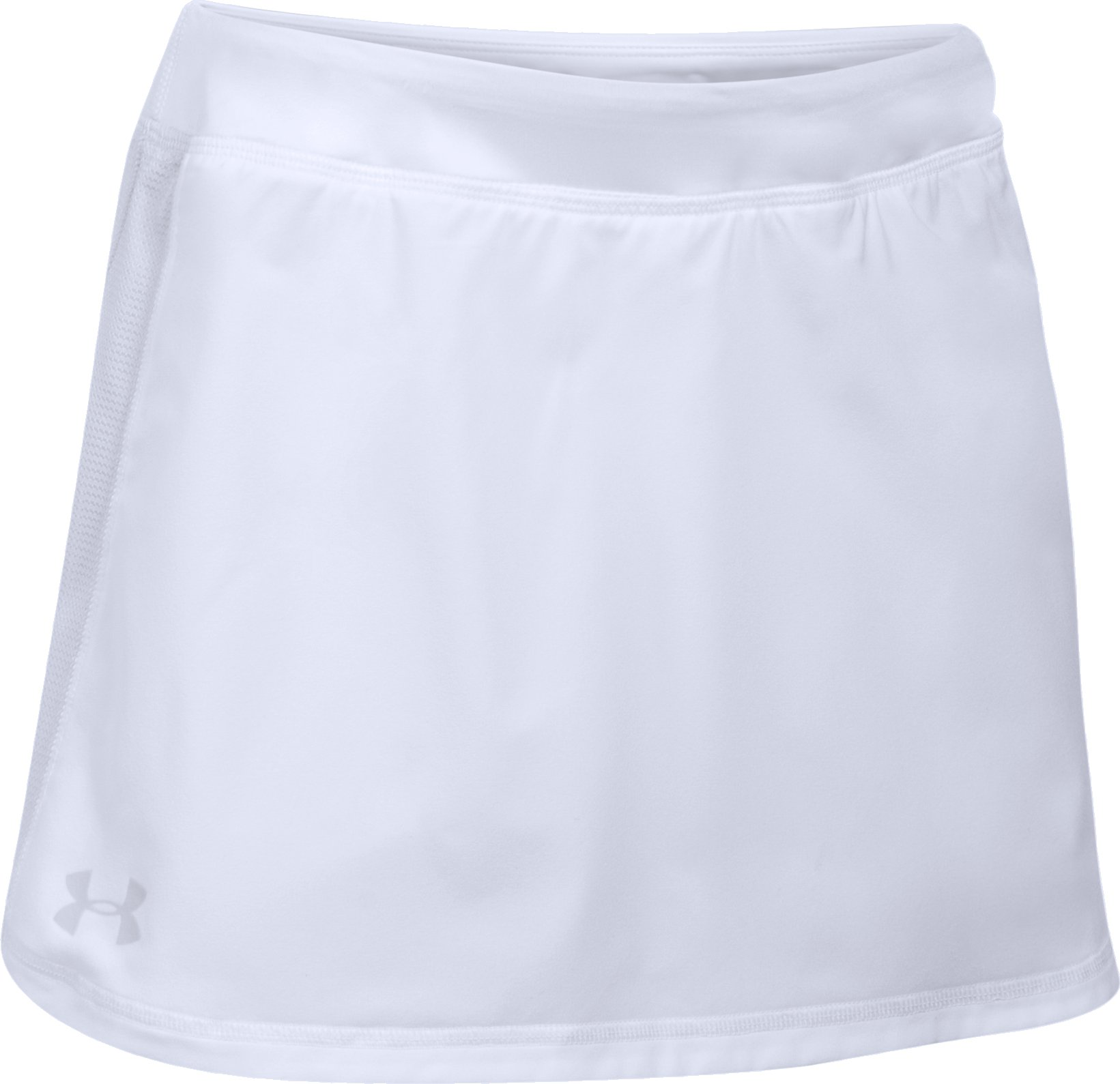 Girls' UA Play Up Skort, White