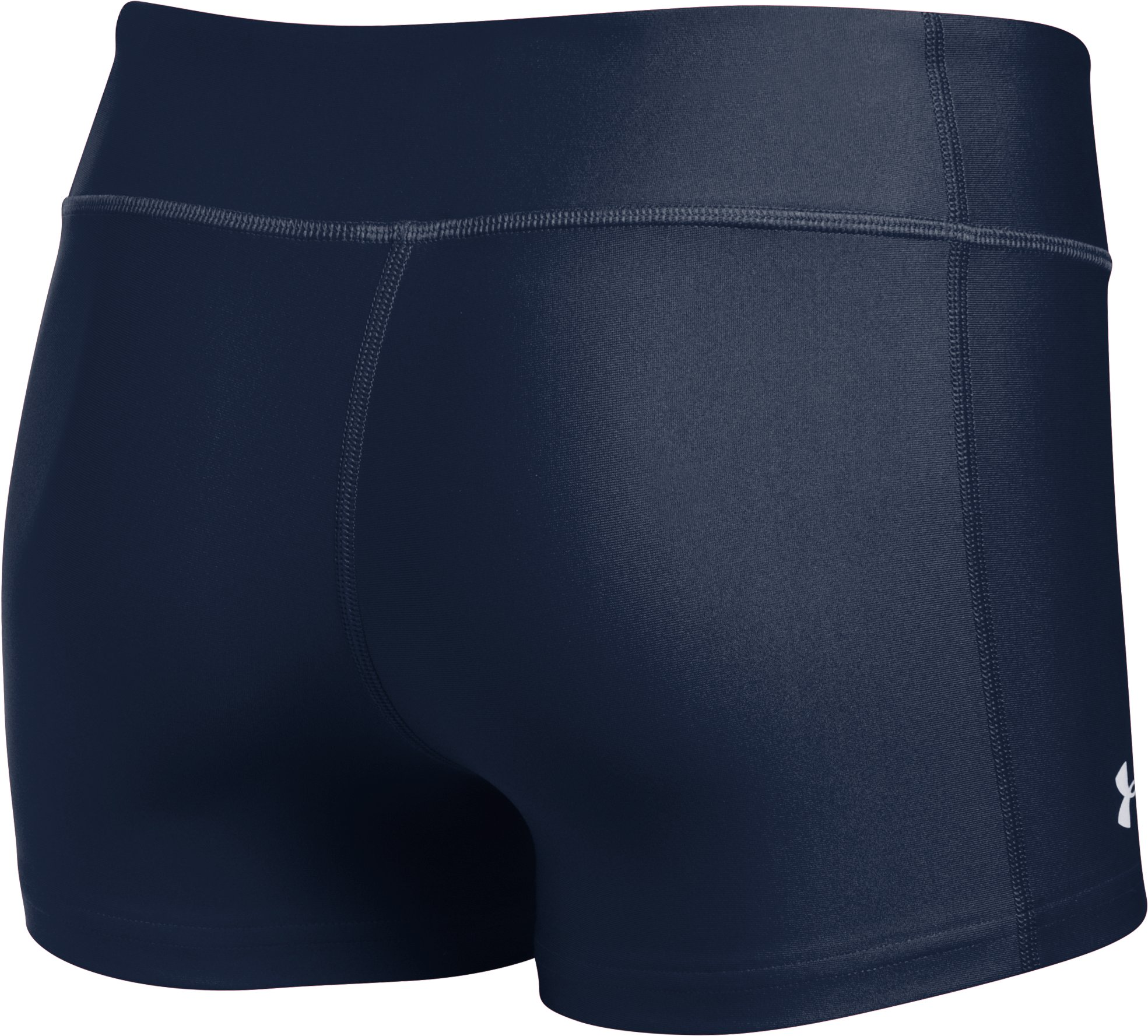 "Women's UA On The Court 3"" Shorts, Midnight Navy,"
