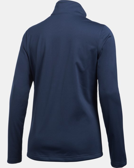 Women's UA Corp Ultimate Jacket, Navy, pdpMainDesktop image number 7