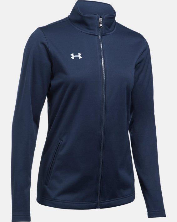 Women's UA Corp Ultimate Jacket, Navy, pdpMainDesktop image number 6
