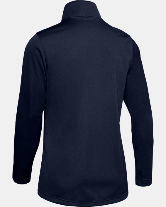 Women's UA Corp Ultimate Jacket, Navy, pdpMainDesktop image number 5