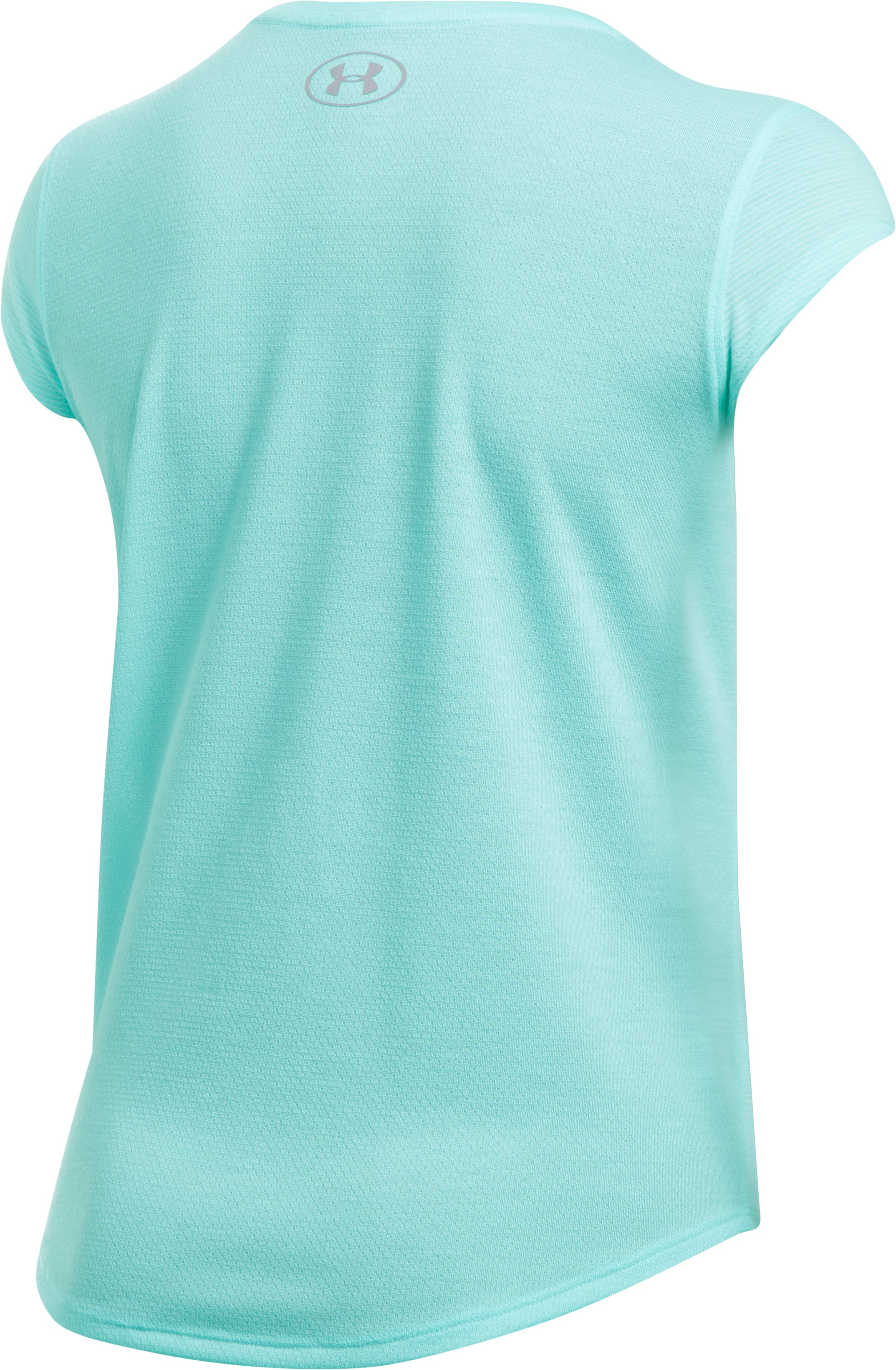 Women's UA Threadborne™ Mesh Short Sleeve, BLUE INFINITY, undefined