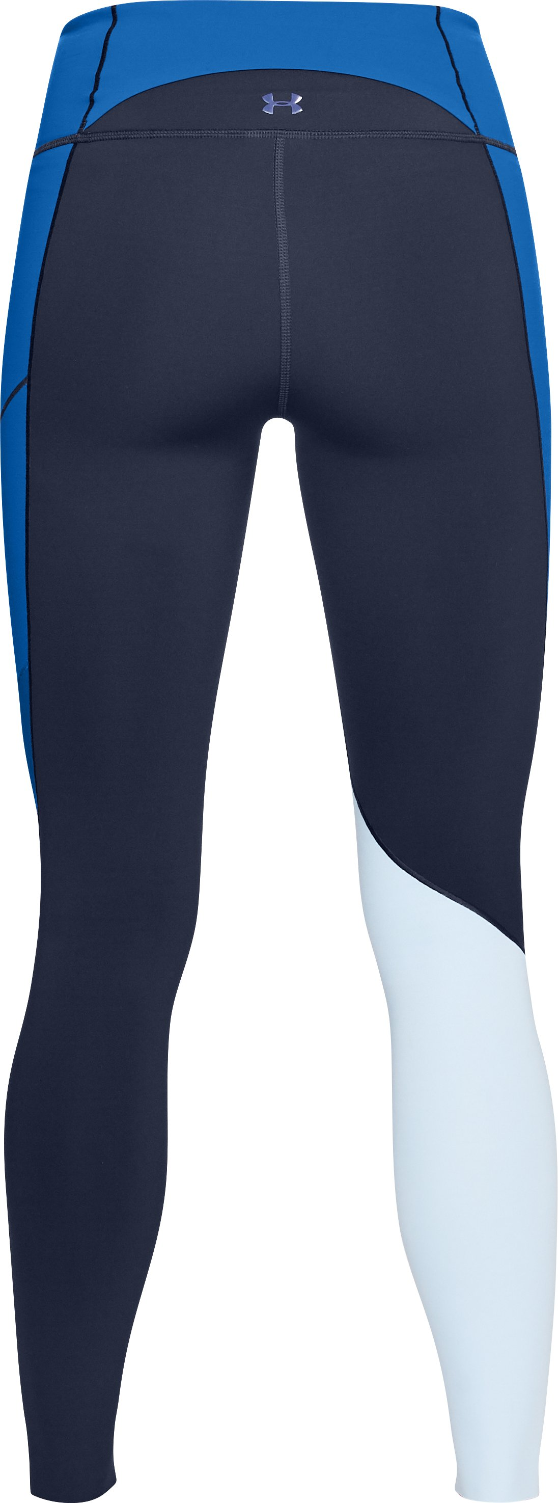 Women's UA Mirror BreatheLux Asym Hi-Rise Leggings, Midnight Navy