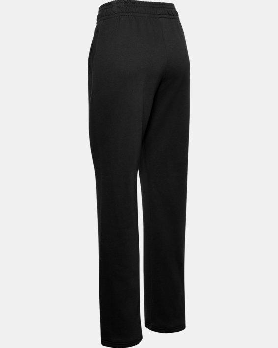 Women's UA Rival Pants, Black, pdpMainDesktop image number 4