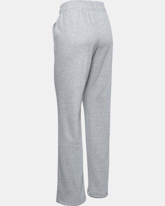Women's UA Rival Pants, Gray, pdpMainDesktop image number 4