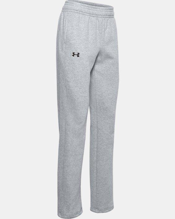 Women's UA Rival Pants, Gray, pdpMainDesktop image number 3