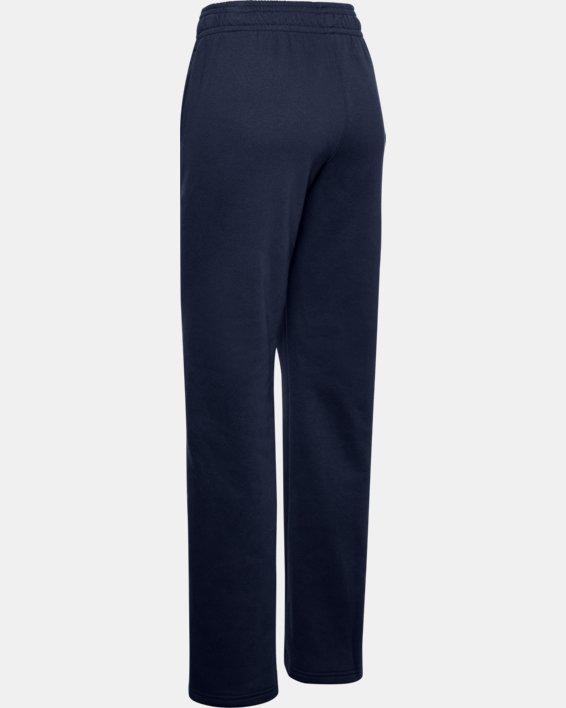 Women's UA Rival Pants, Navy, pdpMainDesktop image number 4