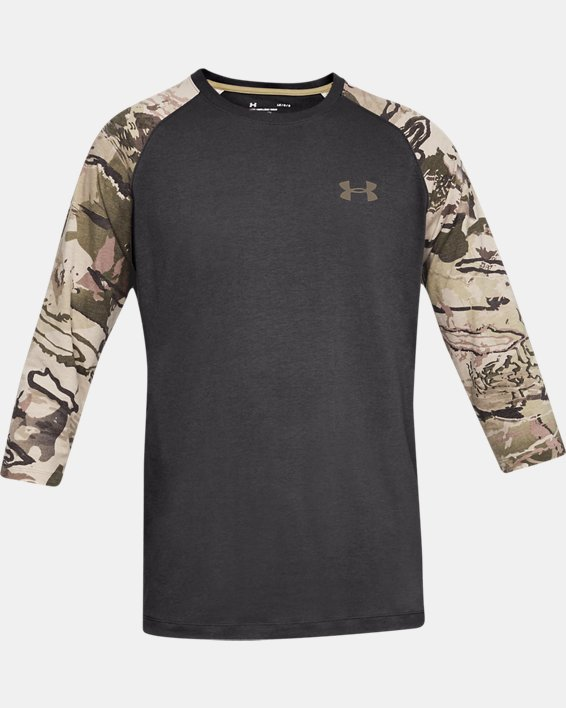 Men's Ridge Reaper® ¾ Sleeve T-Shirt, Gray, pdpMainDesktop image number 3