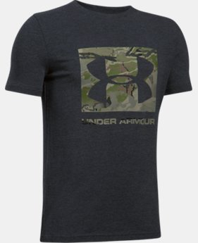 Boys' UA Camo Fill T-Shirt  1 Color $19.99