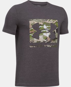 Boys' UA Camo Fill T-Shirt  5 Colors $29.15