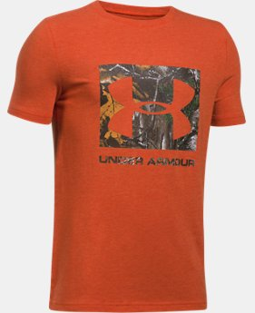 Boys' UA Camo Fill T-Shirt   $19.99