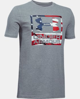 Boys' UA Freedom BFL T-Shirt FREE U.S. SHIPPING 1  Color Available $19.99
