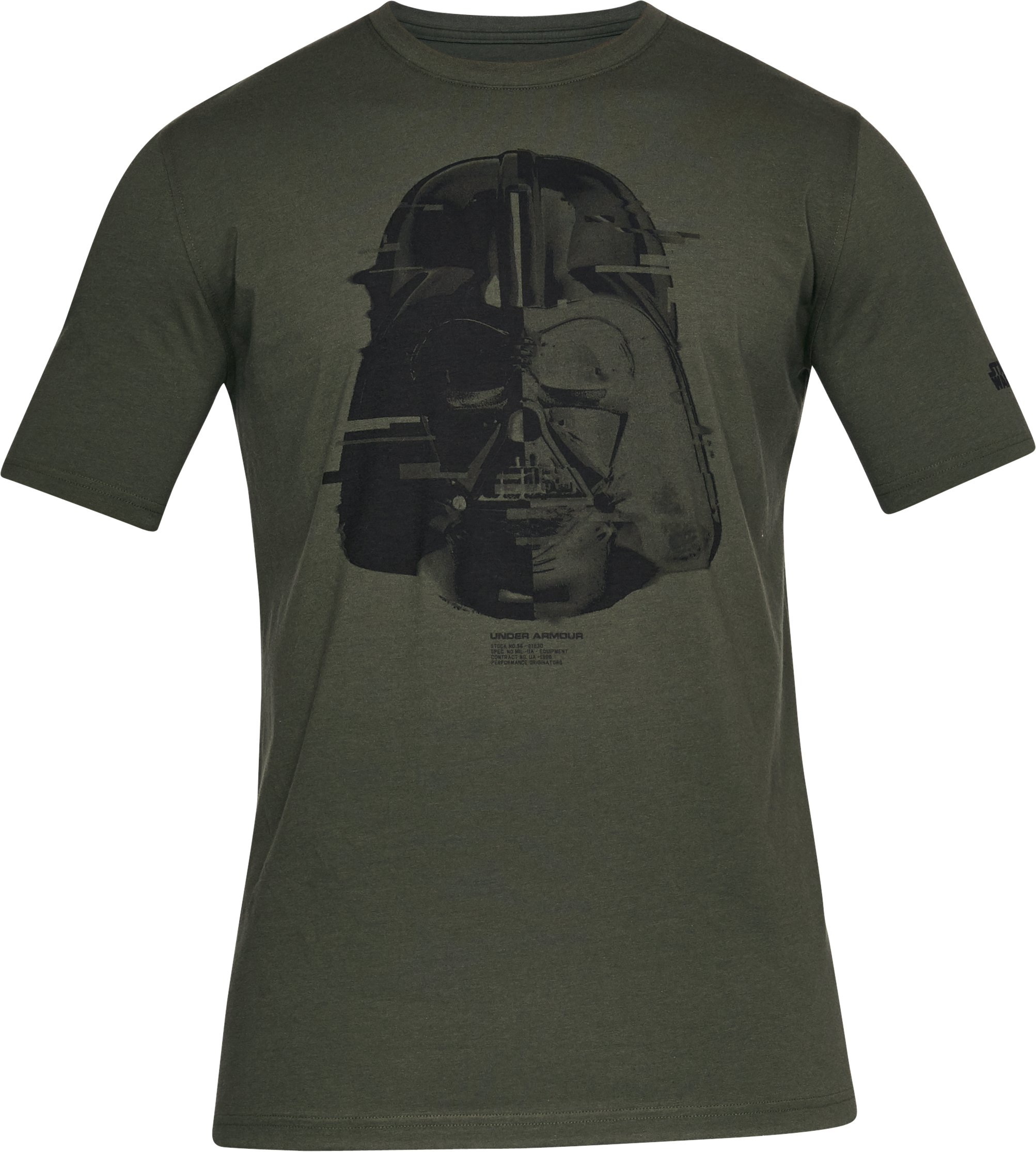 Men's UA Star Wars Vader T-Shirt, Rifle Green, undefined