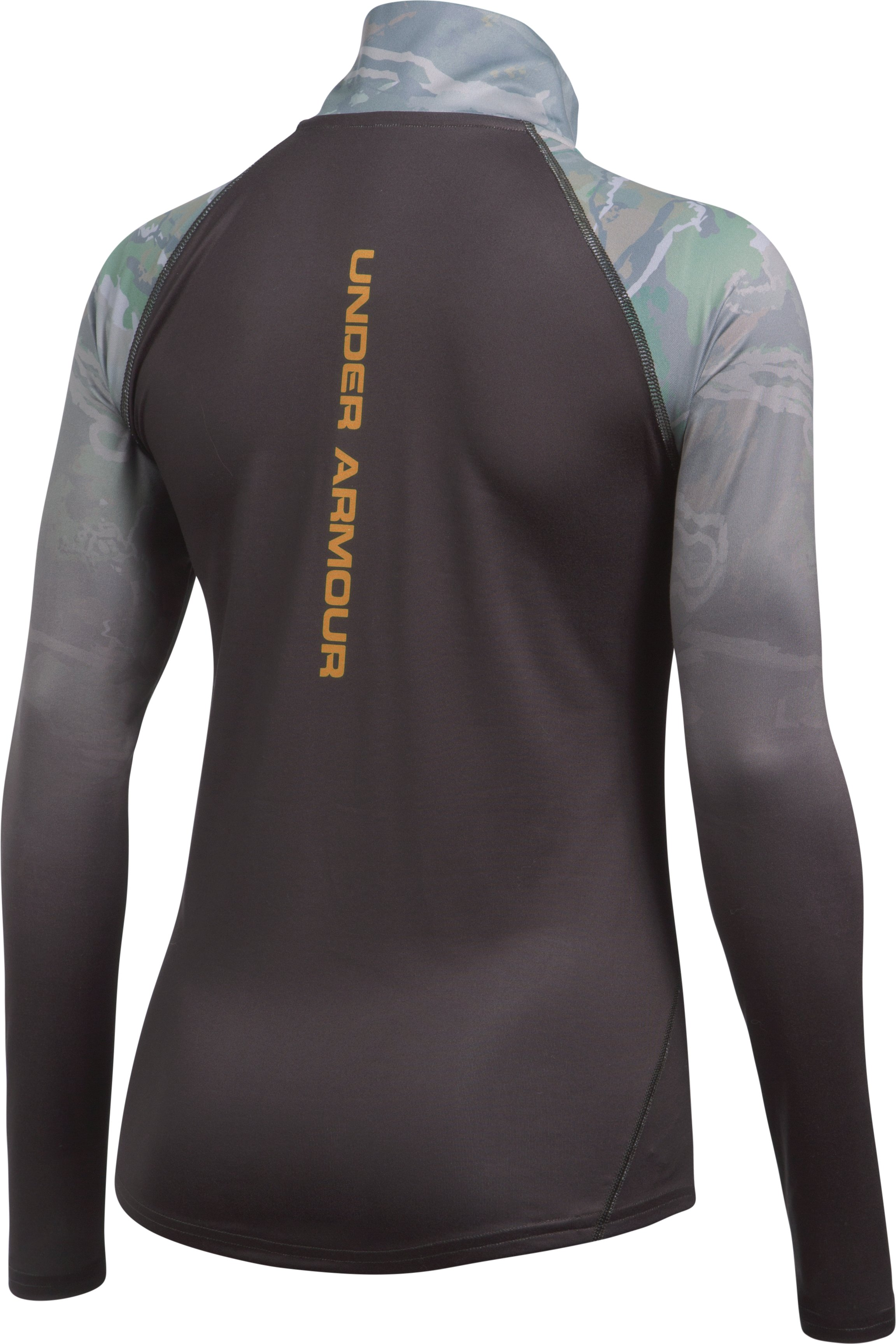 Women's UA Tech™ Faded ¼ Zip, RIDGE REAPER® FOREST,
