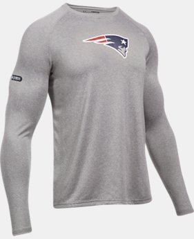 Men's NFL Combine Authentic UA Logo Long Sleeve T-Shirt  1  Color $40