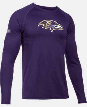 Men's NFL Combine Authentic UA Tech™ Long Sleeve  3  Colors Available $39.99 to $40