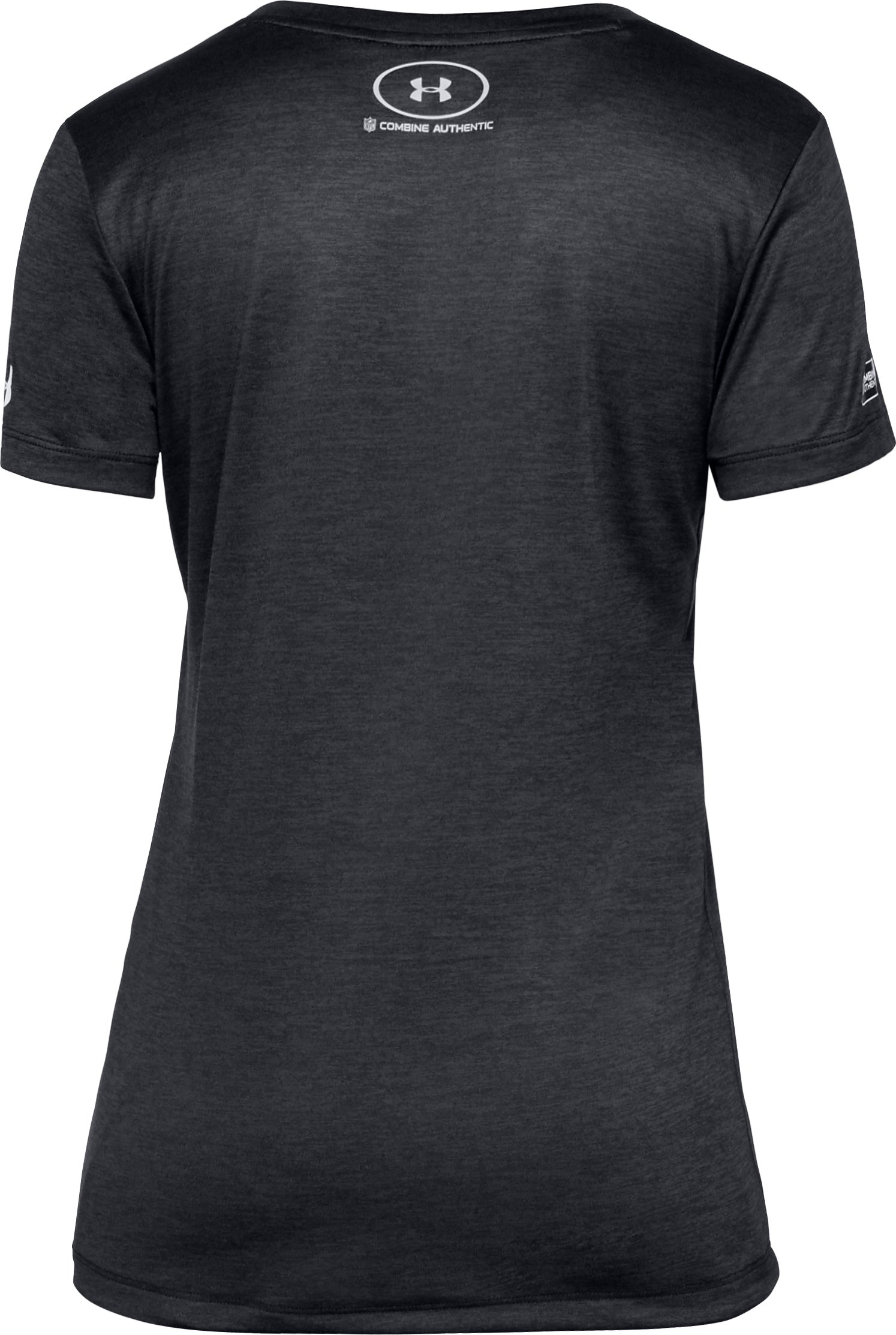 Women's NFL Combine Authentic UA Tech™ V-Neck - Twist Short Sleeve, Baltimore Ravens,