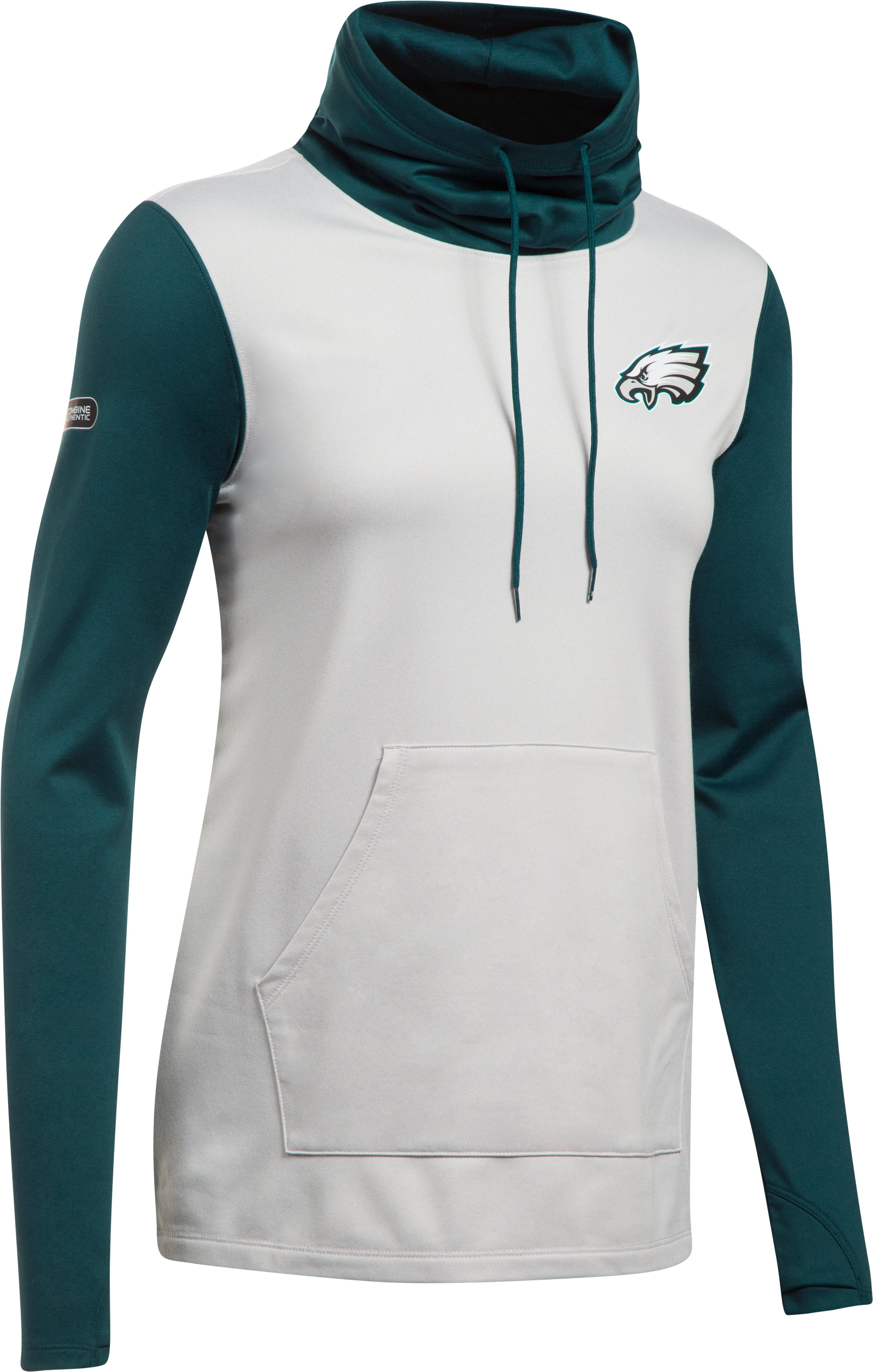 Women's NFL Combine Authentic French Terry Cowl Neck, Philadelphia Eagles, undefined