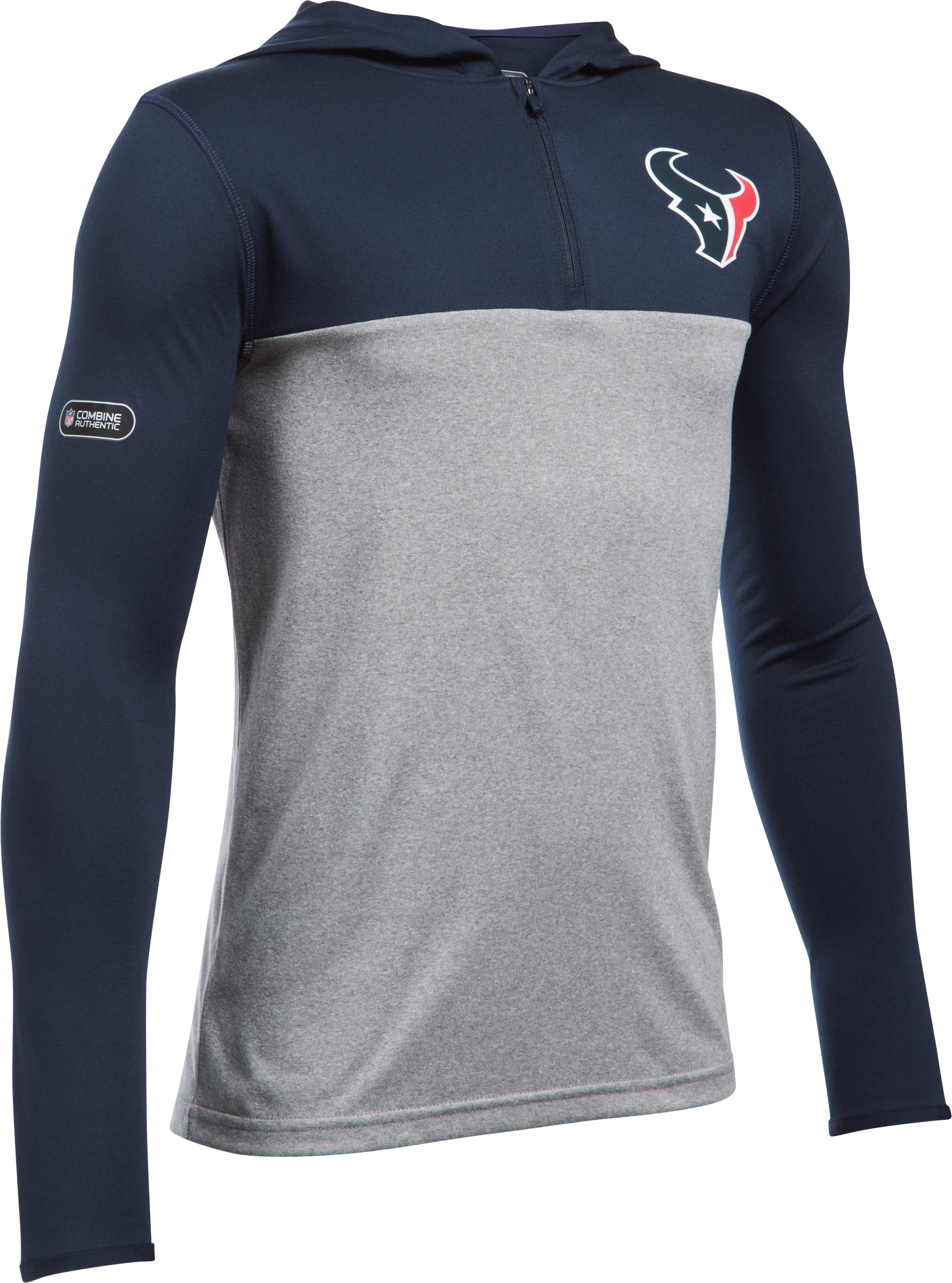 Boys' NFL Combine Authentic UA Own The Field T-Shirt, Houston Texans