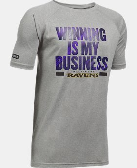 Boys' NFL Combine Authentic UA Winning Is My Business T-Shirt  1  Color $20.99 to $21.99