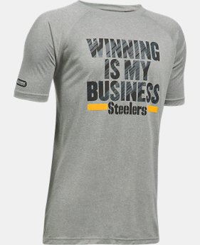 Boys' NFL Combine Authentic UA Winning Is My Business T-Shirt LIMITED TIME: 25% OFF 6 Colors $20.99