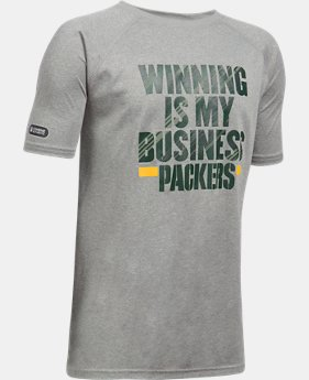 Boys' NFL Combine Authentic UA Winning Is My Business T-Shirt  5 Colors $28