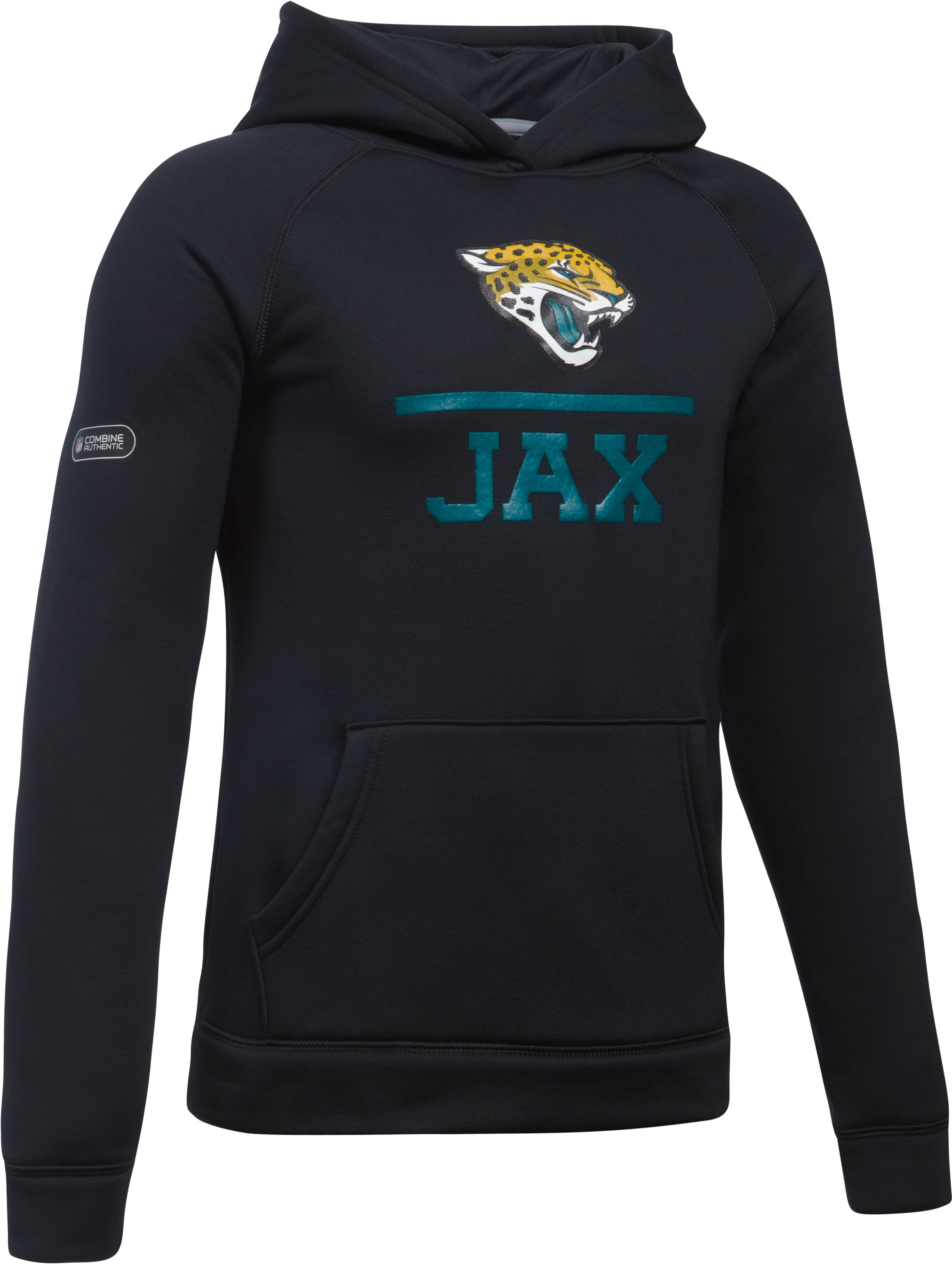 Boys' NFL Combine Authentic UA Storm Team Lockup Hoodie, Jacksonville Jaguars,