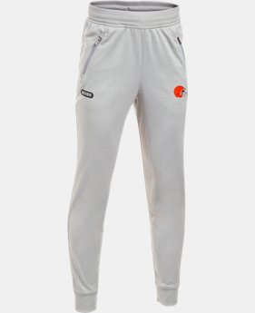 New to Outlet Boys' NFL Combine Authentic UA Pennant Pants  1  Color Available $35