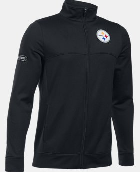 Boys' NFL Combine Authentic UA Pennant Warm-Up Jacket  3 Colors $50