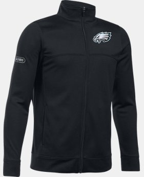 Boys' NFL Combine Authentic UA Pennant Warm-Up Jacket  1  Color $50