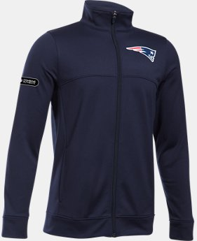 Boys' NFL Combine Authentic UA Pennant Warm-Up Jacket  1  Color Available $50