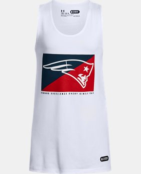 New Arrival Girls' NFL Combine Authentic UA Split Logo Tank  9 Colors $28