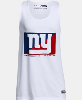 Girls' NFL Combine Authentic UA Split Logo Tank  8 Colors $28