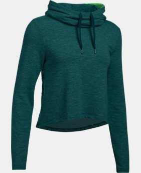Women's UA Plush Terry Hoodie   1 Color $74.99