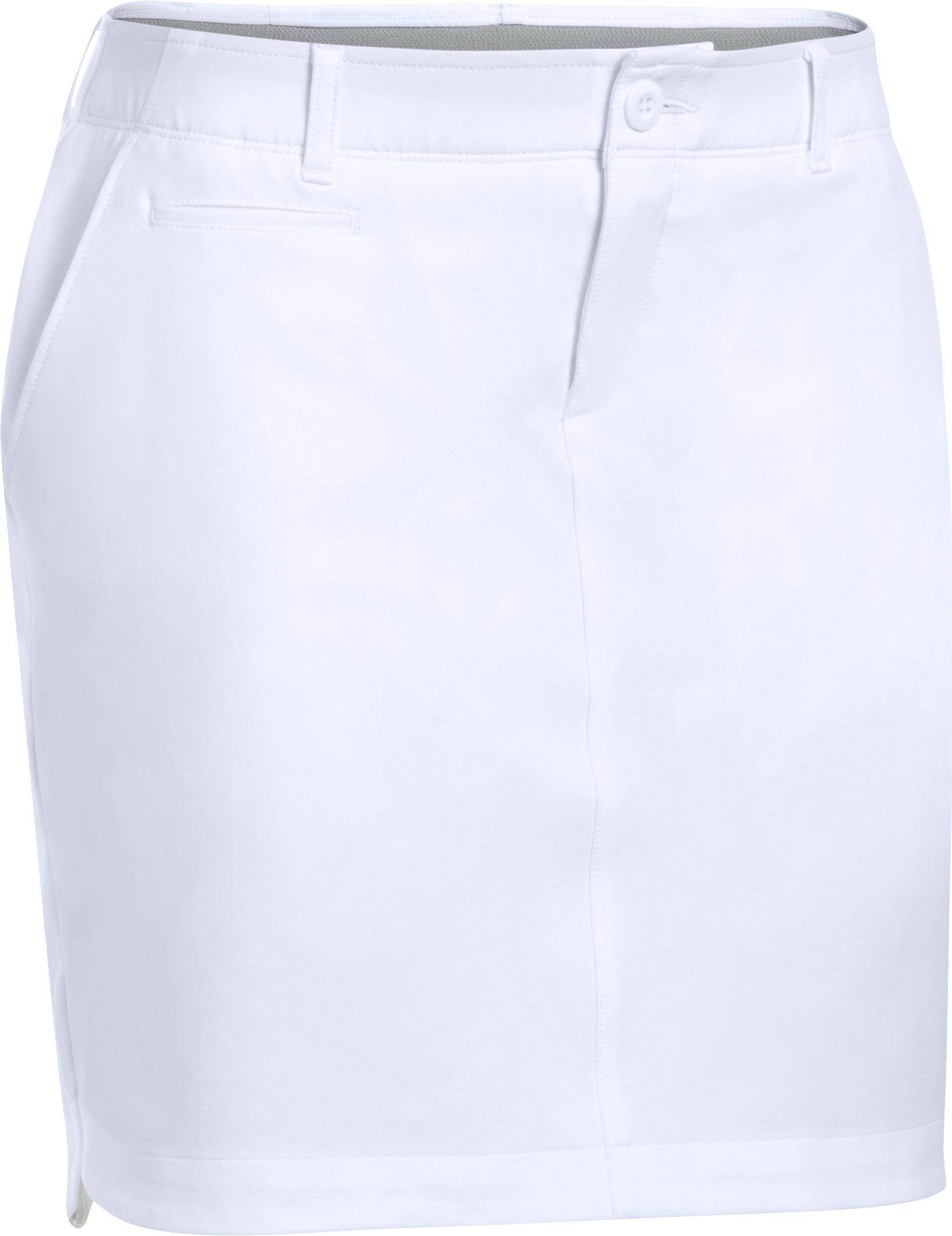 Women's UA Links Woven Skort, White, undefined