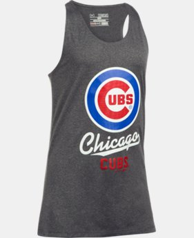 Girls' Chicago Cubs UA Tech™ Tank LIMITED TIME: FREE U.S. SHIPPING 1  Color Available $24.99