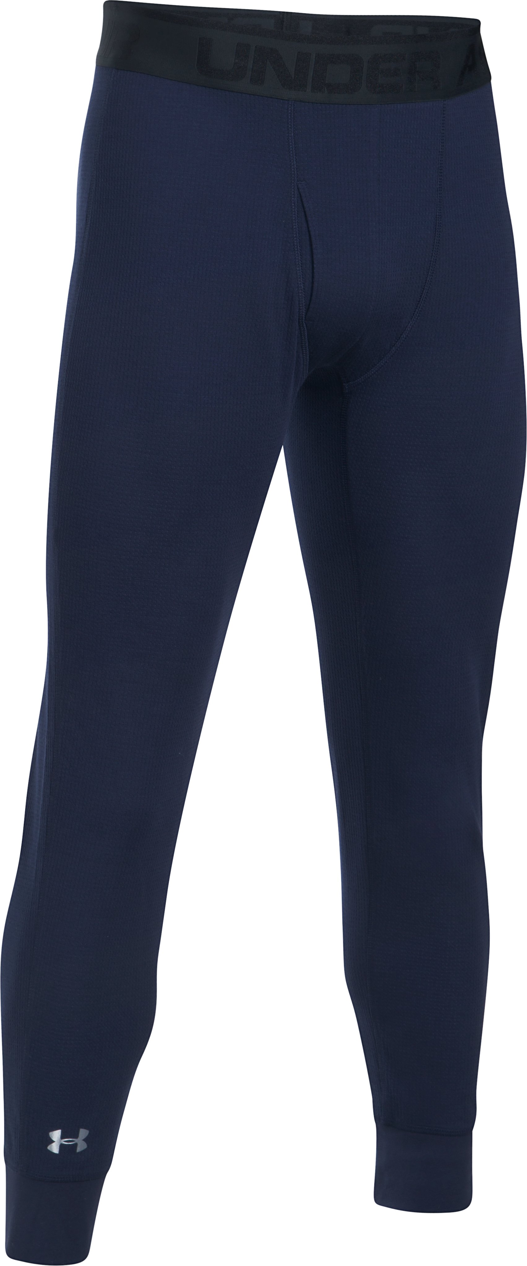 Men's UA Waffle Leggings, Midnight Navy,