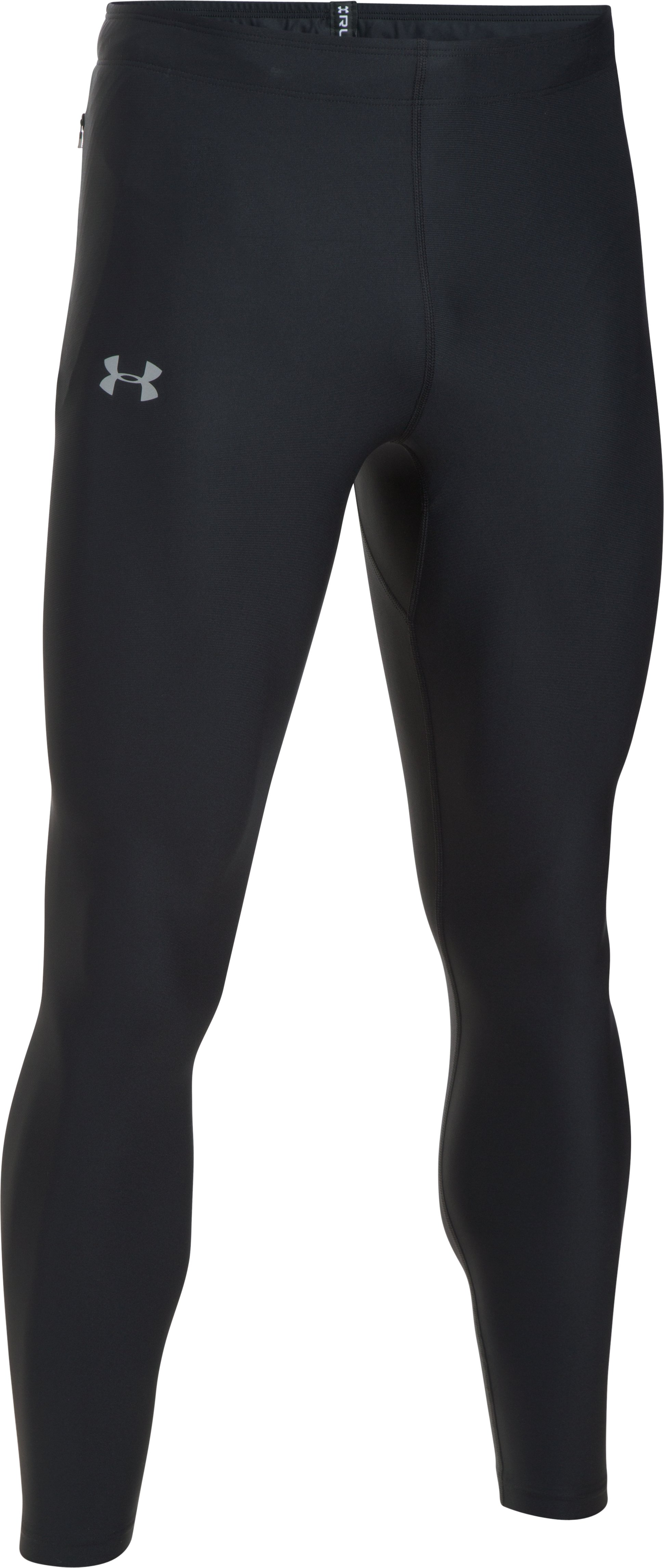 Men's UA Run True Leggings, Black , undefined