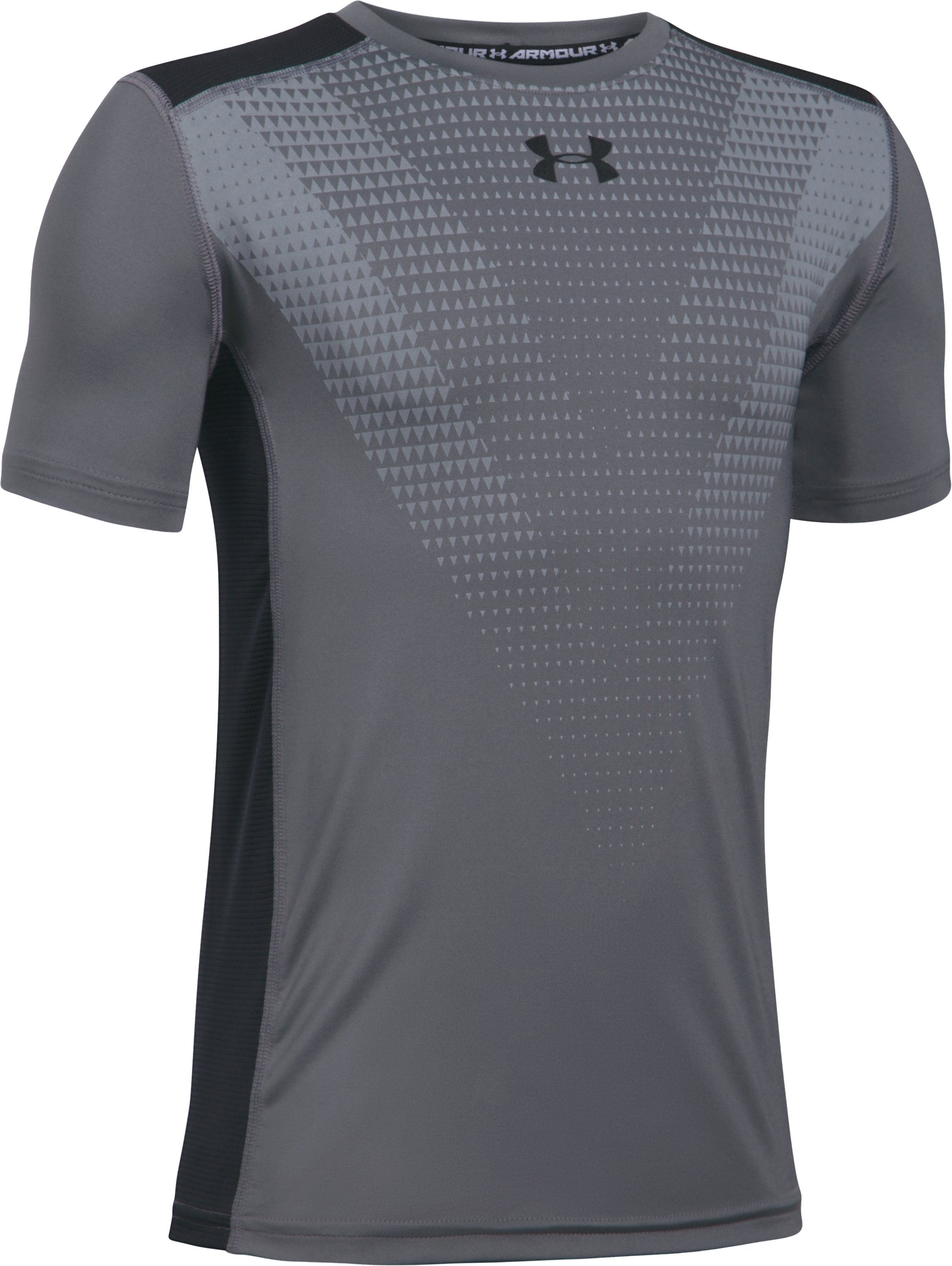 Boys' UA Select T-Shirt, Graphite, undefined
