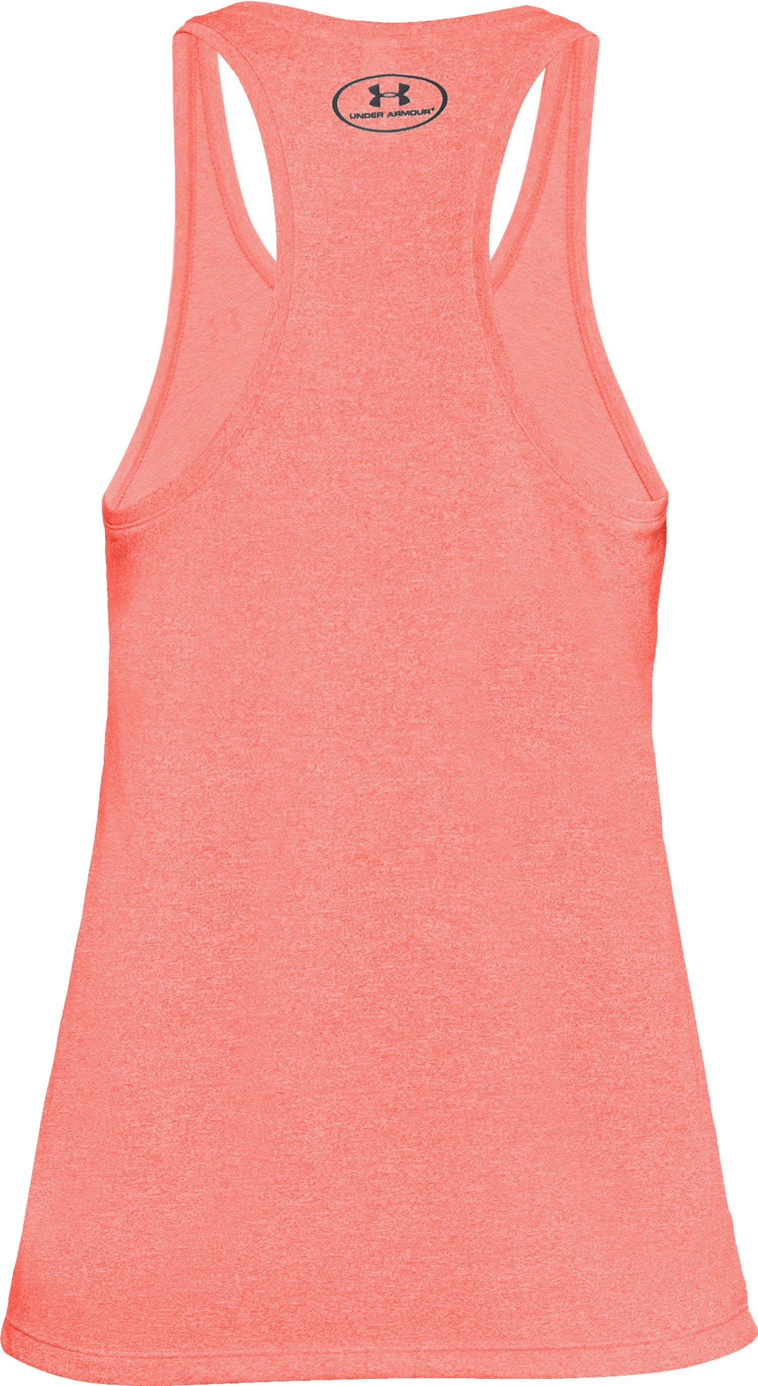 Women's UA Microthread Train Twist Tank, AFTER BURN,