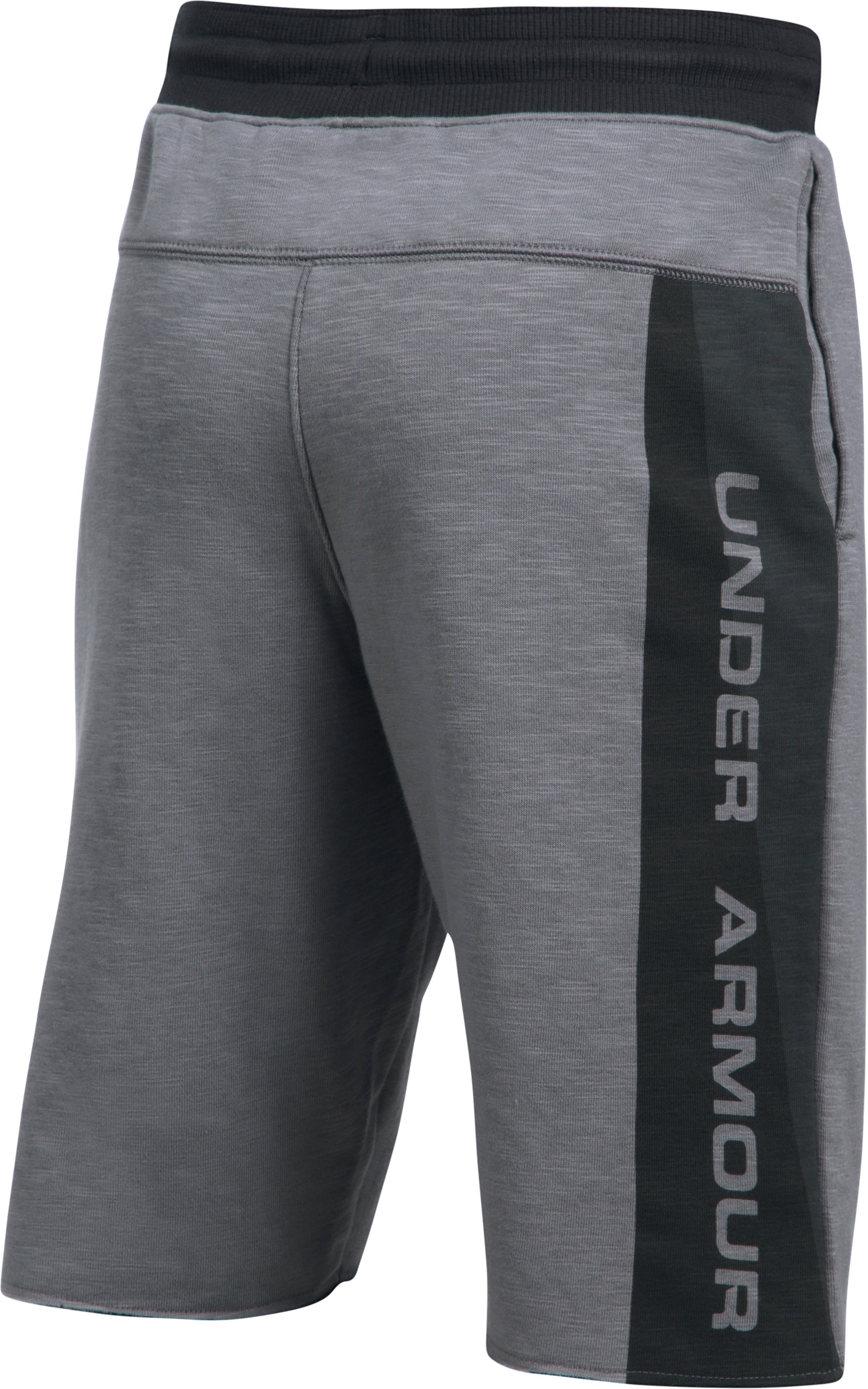 Boys' UA Select Terry Shorts, Graphite,