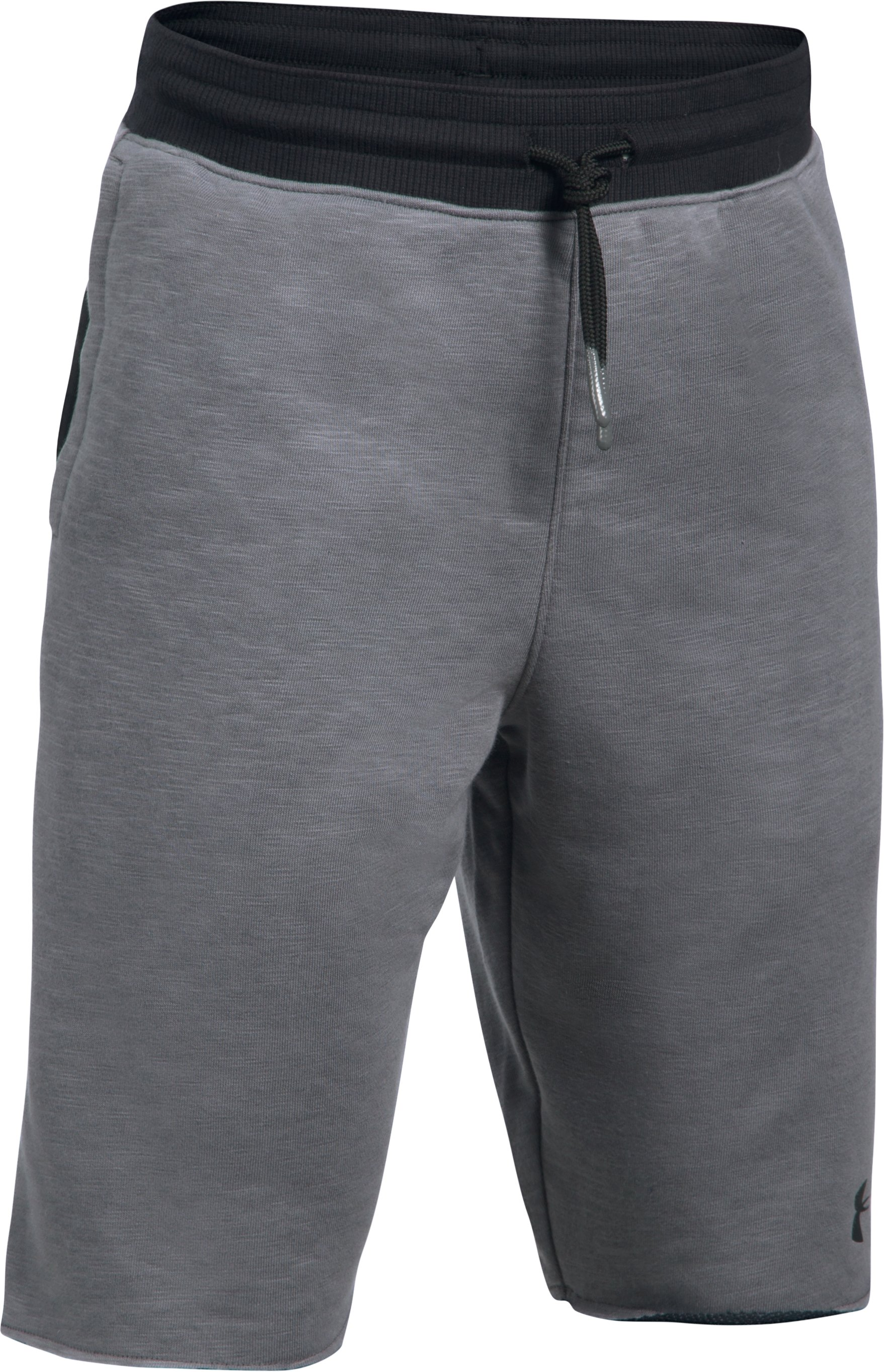 Boys' UA Select Terry Shorts, Graphite
