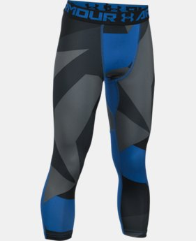 Boys' HeatGear® Armour Printed ¾ Legging  6 Colors $34.99