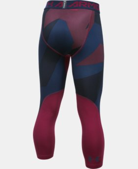 Boys' HeatGear® Armour Printed ¾ Legging  2 Colors $34.99