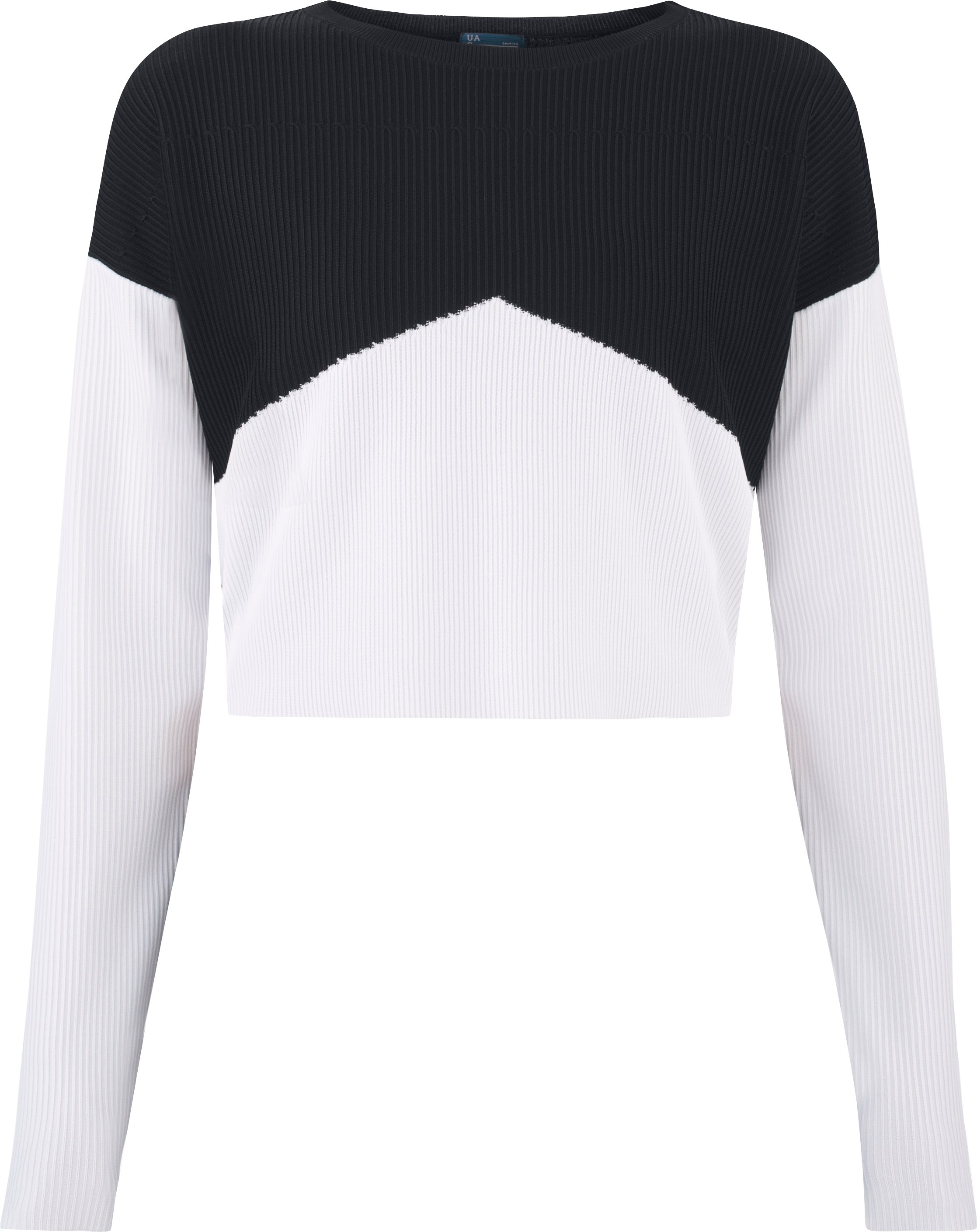 Women's UAS Plated Cropped Sweater, Black ,