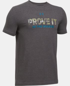 Boys' UA Prove it in the Woods T-Shirt  1 Color $29.15