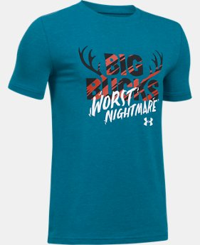 New Arrival Boys' UA Bucks Worst Nightmare T-Shirt  1 Color $19.99