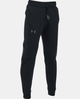 Boys' UA Stretch Fleece Ridge Jogger  2 Colors $64.99