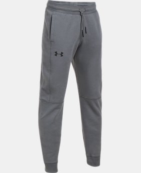 Boys' UA Stretch Fleece Ridge Jogger  3 Colors $54.99